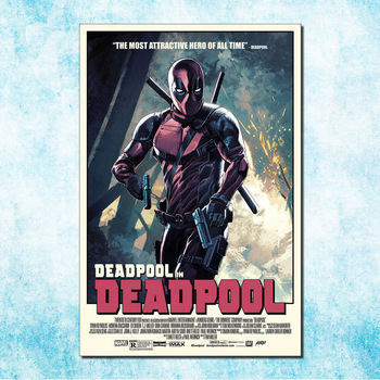 Deadpool Wade Wilson Art Silk Canvas Poster Print 13x20 20x30 inch Movie Comic Pictures Living Room Decor (more)-7