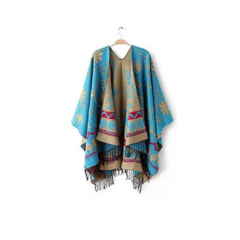 NEW Fashion Trendy Design Women Lady Spring Summer Super Large Size Scarf Thick National Style Oversized Blanket Scarf Scarves