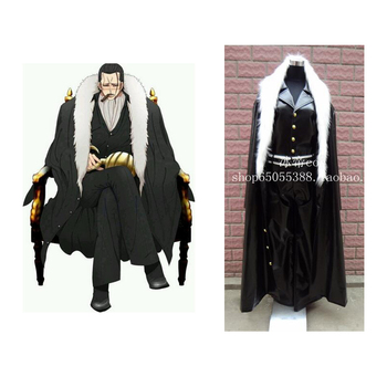 2016 Anime One Piece P. O. PDX NEO Sir. Crocodile Luffy Gecko. Moria cosplay kostüm Faux deri