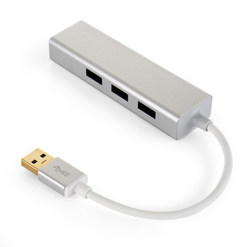 3 Port USB 3.0 Gigabit Ethernet Lan RJ45 Ağ Adaptörü Hub 1000 Mbps Mac PC için