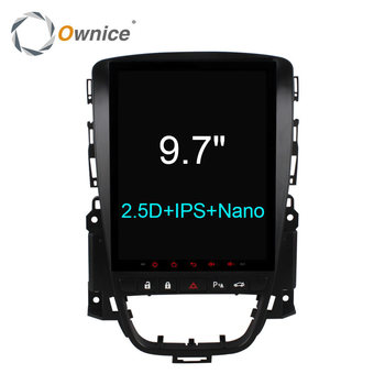 "Ownice C600 Dikey 9.7 ""Buick Excelle XT GT için Android 6.0 car dvd player 2006-2016 navigasyon radyo gps stereo 4G LTE SIM"