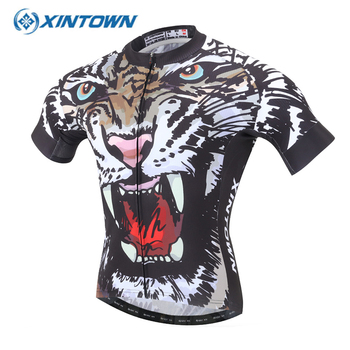 XINTOWN Kısa Kollu ohio state jersey Bisiklet Jersey camisa ciclismo Bisiklet Giyim Spor Homme Tenue Cycliste Ciclismo