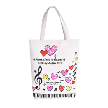 Piano Handbag Musical Bag Sweety Bag Lovely Sheet Musical Bag Cotton And Linen Customized Crafts Design Support Wholesale