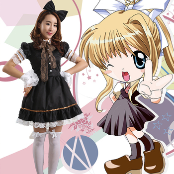 Anime rozen maiden traumend oubertuere siyah gotik lolita dress cosplay kostüm